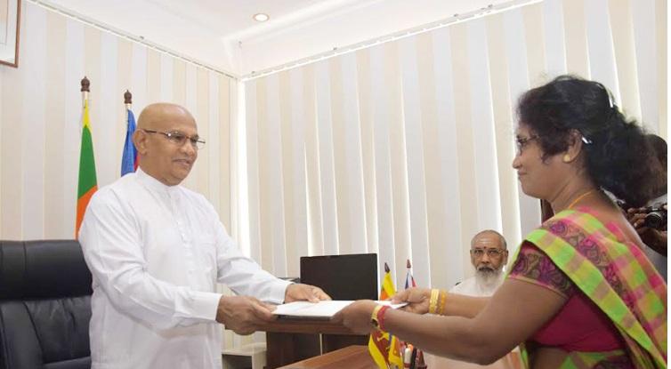 NPC Ministers Oath ananthi