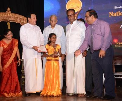 அறநெறி பாடசாலை மாணவர்களுக்கான தேசிய ஆக்கத்திறன் விருது 2017 நிகழ்வு